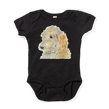 Unique Cream Baby Bodysuit