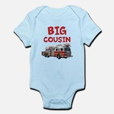 Big Cousin - Firetruck Body Suit