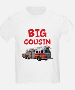 Big Cousin - Firetruck T-Shirt