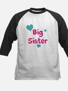 Big Sister (hearts) Baseball Jersey
