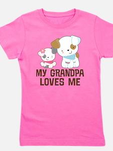 Unique Grandpa Girl's Tee