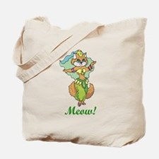 Belly Dancing Cat Tote Bag