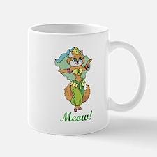 Belly Dancing Cat Mug