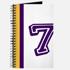 PURPLE AND GOLD NUMBER SEVEN Journal