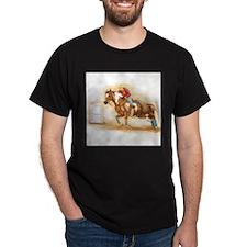 Barrel Racing, sorrel Paitn H T-Shirt