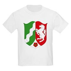 Nordrhein Westfalen Coat of A Kids T-Shirt
