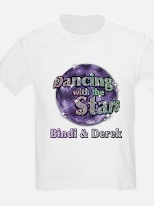 Dwts Bindi And Derek Kids T-Shirt