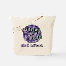 Dwts Bindi And Derek Tote Bag