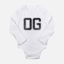 Cute Gangsta Long Sleeve Infant Bodysuit