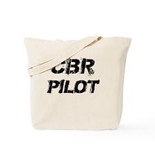 CBR Pilot Black Letters Tote Bag
