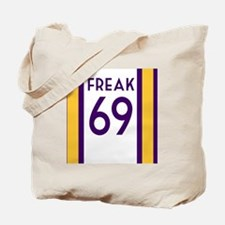 freak purple Tote Bag