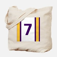 Funny Lucky number 7 Tote Bag