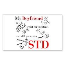 Boyfriend STD Rectangle Decal