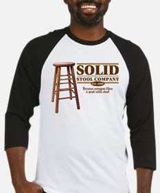 Solid Stool Baseball Jersey