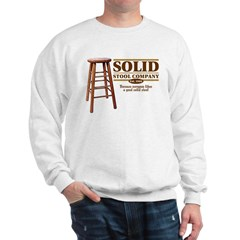 Solid Stool Sweatshirt