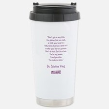 YOU MAKE ME BRAVE Stainless Steel Travel Mug