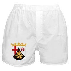 Rheinland Pfalz Coat of Arms Boxer Shorts