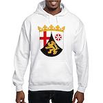 Rheinland Pfalz Coat of Arms Hooded Sweatshirt