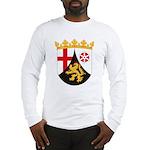 Rheinland Pfalz Coat of Arms Long Sleeve T-Shirt