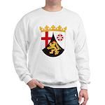 Rheinland Pfalz Coat of Arms Sweatshirt