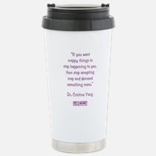 DEMAND MORE... Travel Mug