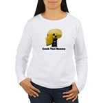 Crash Test Dummy Women's Long Sleeve T-Shirt