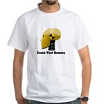 Crash Test Dummy White T-Shirt