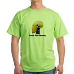 Crash Test Dummy Green T-Shirt