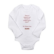 NO LIQUOR? Long Sleeve Infant Bodysuit
