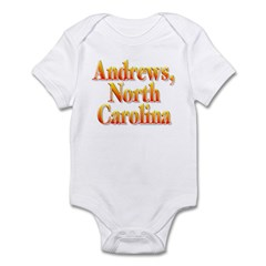 Andrews, North Carolina Infant Bodysuit