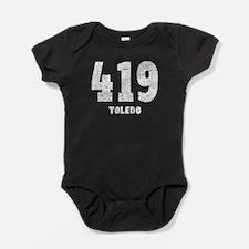 419 Toledo Distressed Baby Bodysuit