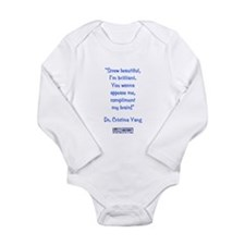 SCREW BEAUTIFUL! Long Sleeve Infant Bodysuit