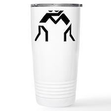 Funny Sports wrestling Travel Mug