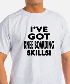 Knee Boarding Skill Designs T-Shirt