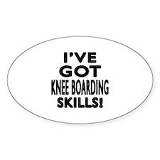 Knee Boarding Skill Designs Decal
