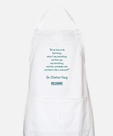 HAVE A MOMENT? Apron