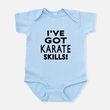 Karate Skills Designs Infant Bodysuit