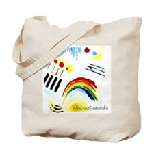 ABSTRACT SOUNDS Tote Bag