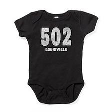 502 Louisville Distressed Baby Bodysuit