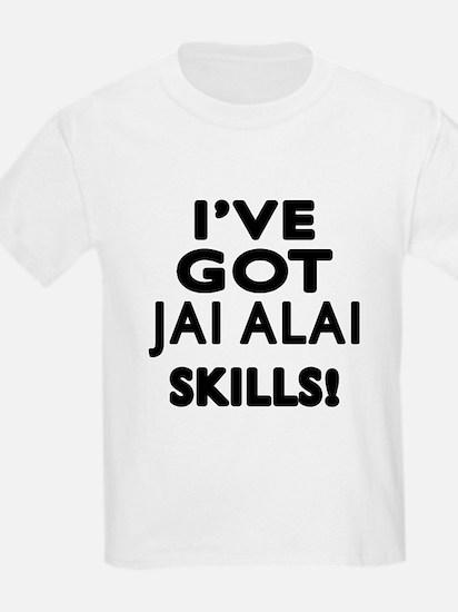 Jai Alai Skills Designs T-Shirt