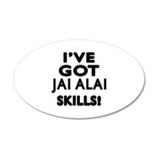 Jai Alai Skills Designs Wall Decal