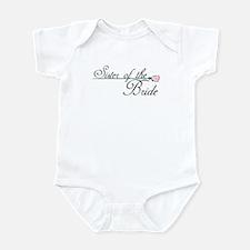 Elegant Sister of the Bride Infant Bodysuit