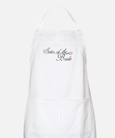 Elegant Sister of the Bride BBQ Apron