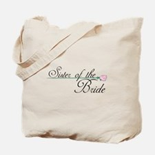 Elegant Sister of the Bride Tote Bag