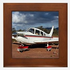Low wing Aircraft, Outback Australia Framed Tile