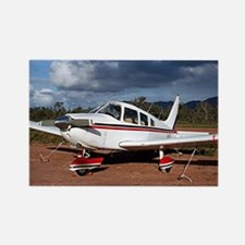 Low wing Aircraft, Outback Austra Rectangle Magnet