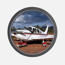 Low wing Aircraft, Outback Australia Wall Clock