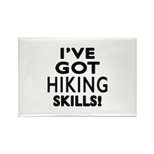 Hiking Skills Designs Rectangle Magnet