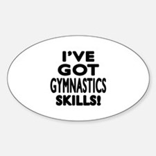 Gymnastics Skills Designs Decal