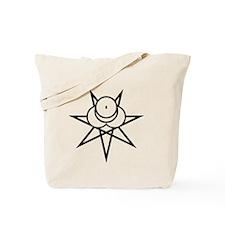 Black Seal Tote Bag